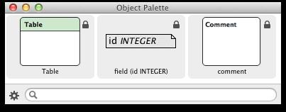 New palette in default mode